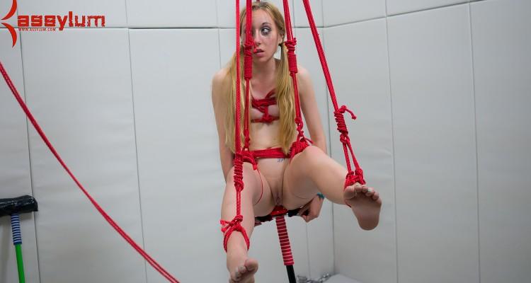 Emma Haize rope bondage