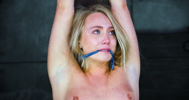AJ Applegate receives her punishment from HardTied