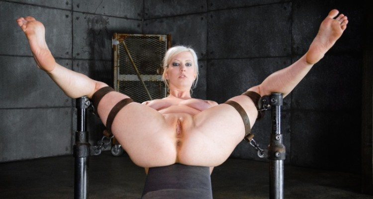 Cherry Torn spread wide open and ready to fuck